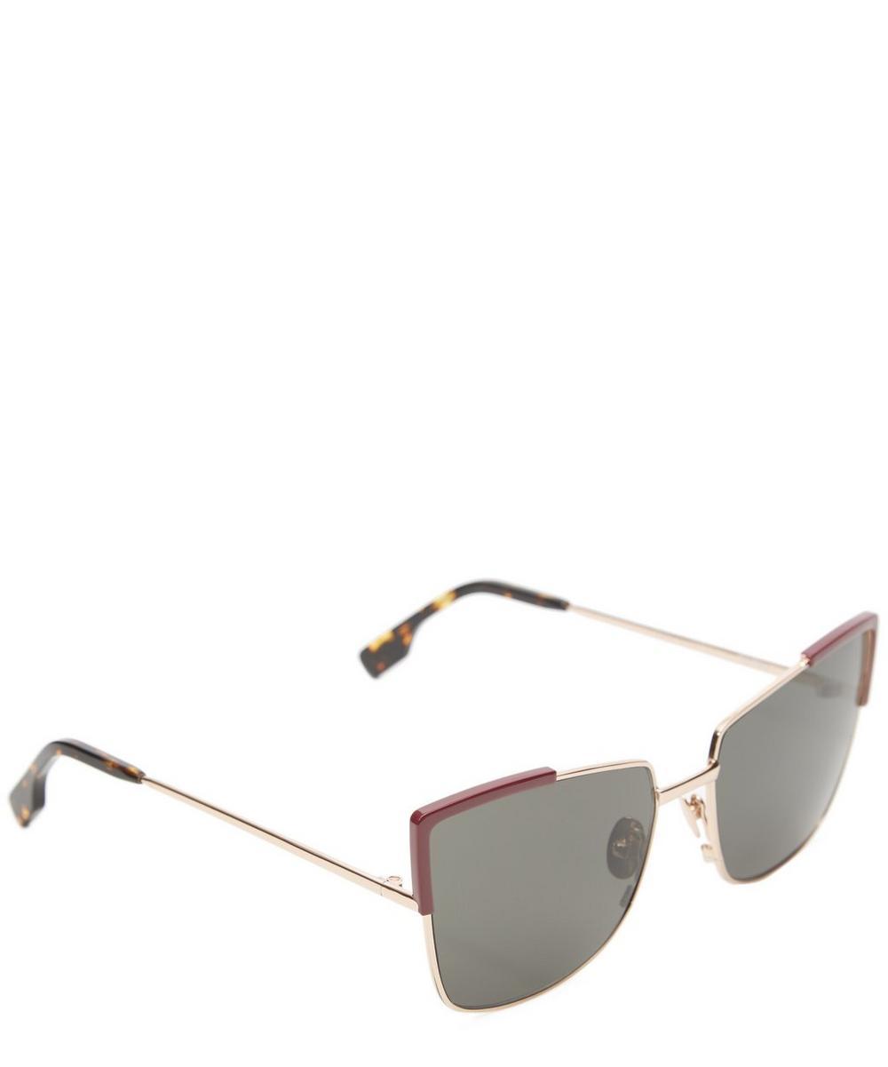 Totto Metal Cat-Eye Sunglasses