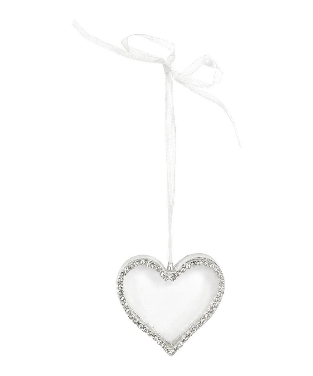 Glass Heart Decoration