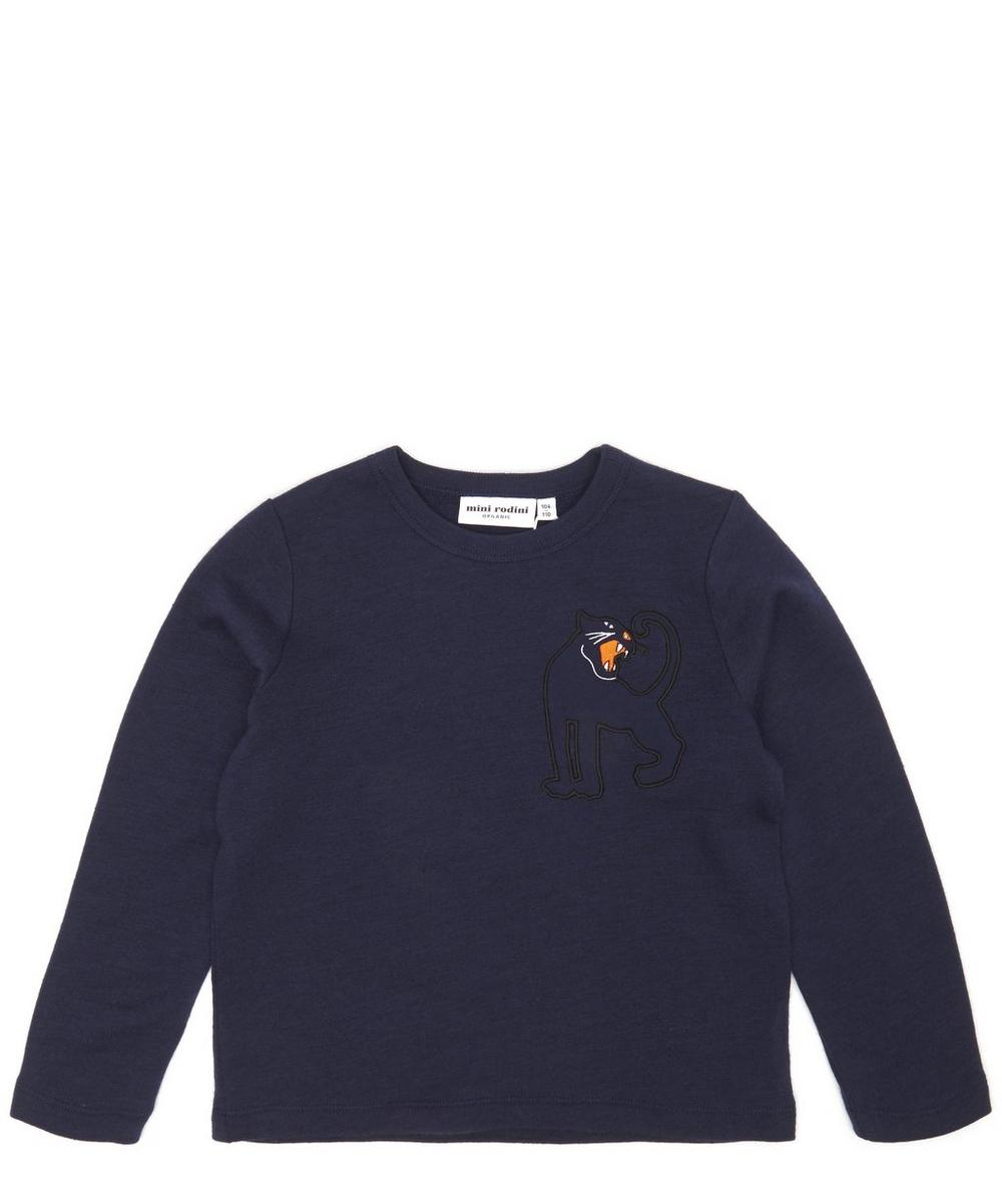Panther Knitted Wool Sweatshirt 12 Months-10 Years