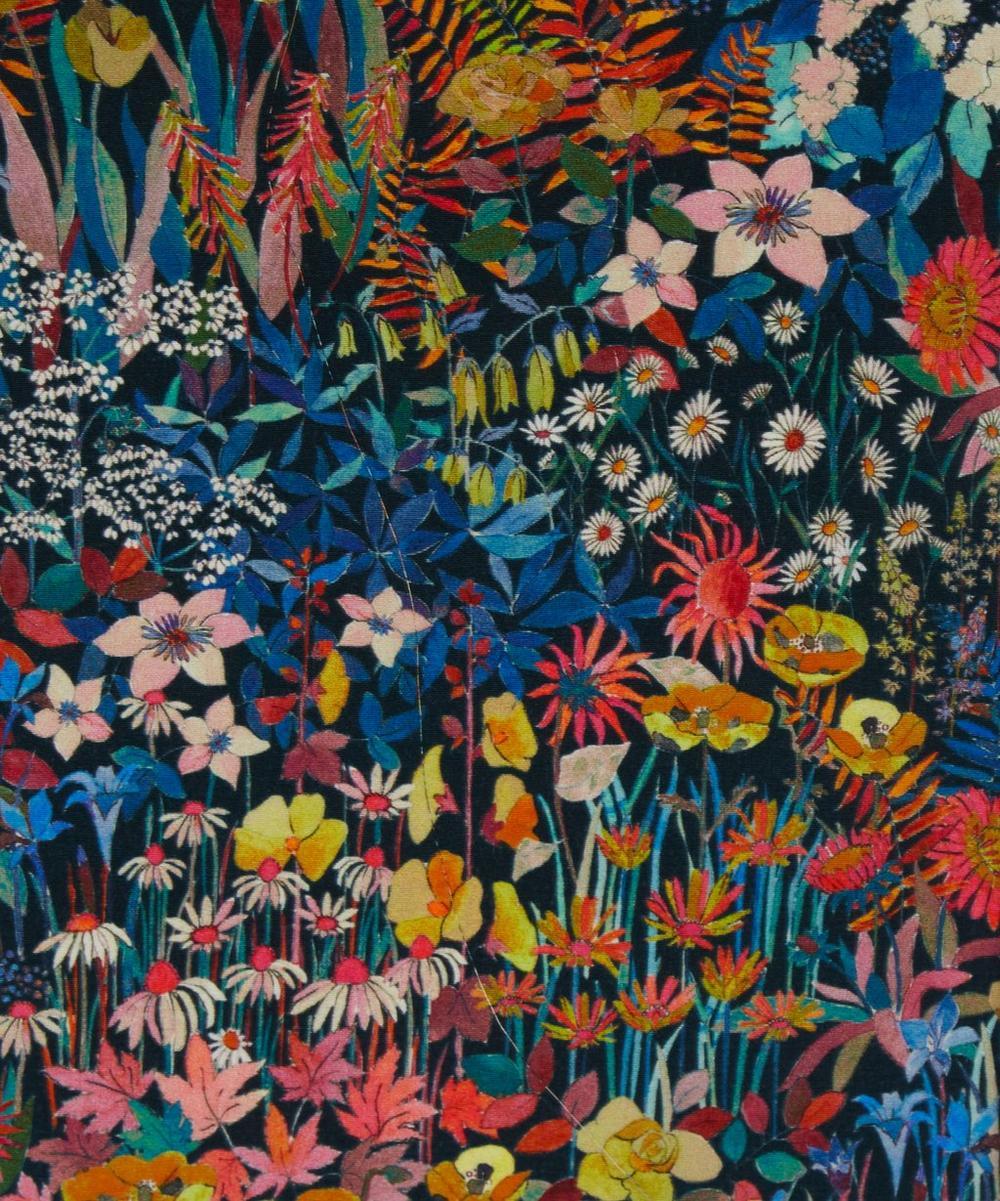 Faria Flowers Small Crepe de Chine