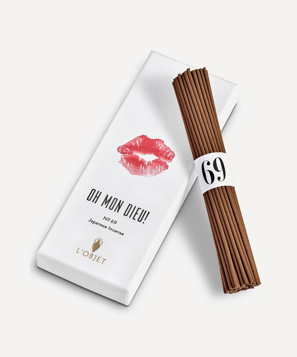 Oh Mon Dieu No.69 Incense Sticks Box