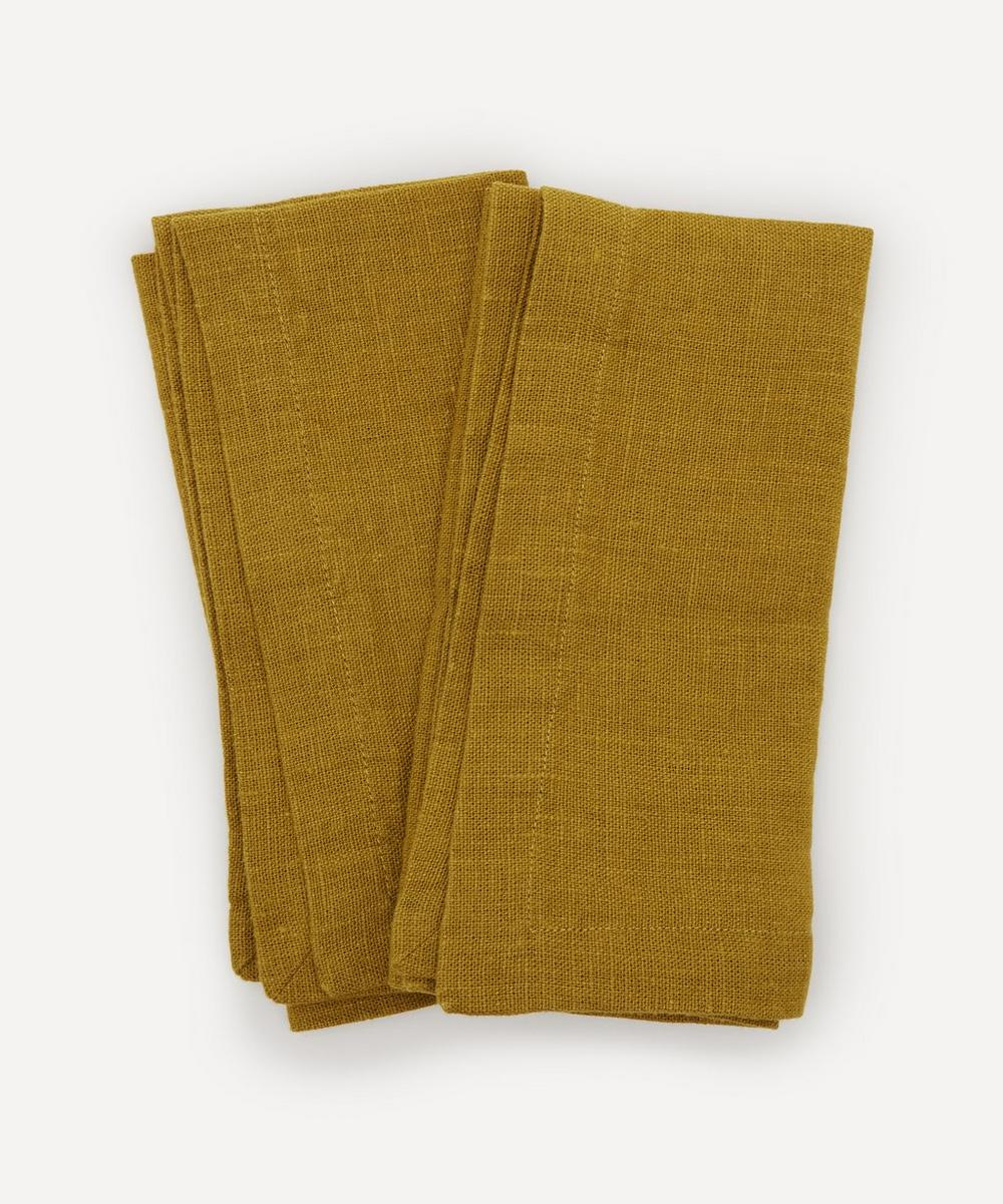 Linen Napkins Set of Two