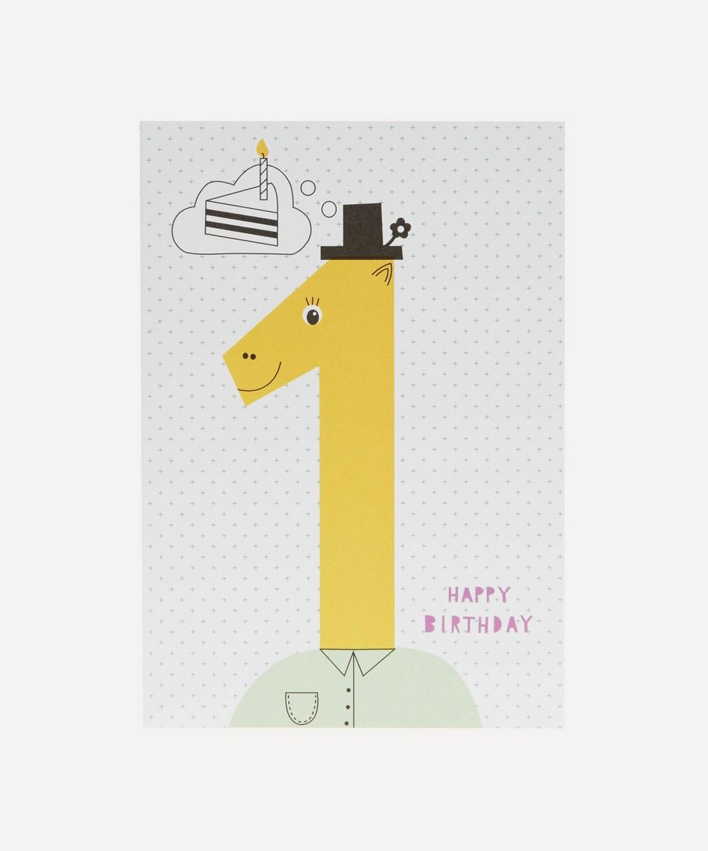 Happy Birthday Age 1 Card
