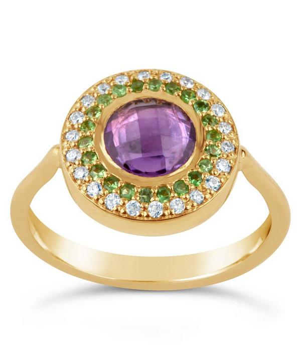 Suffragette Gold Halo Pinky Ring