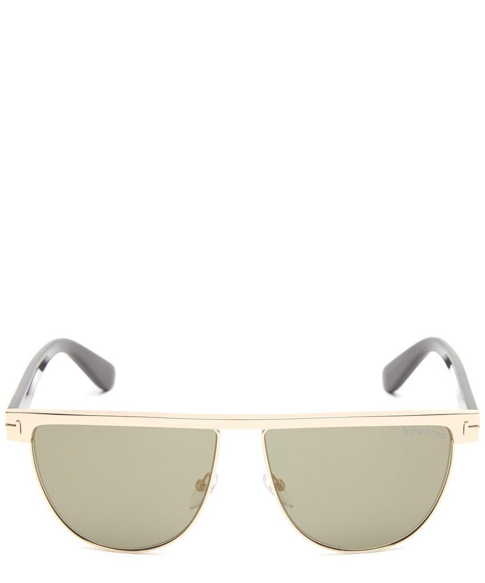 Stephanie D-Frame Sunglasses