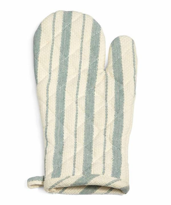 Country House Striped Oven Glove