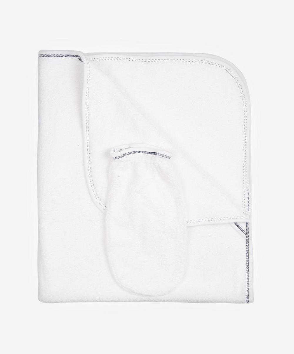 Aviators Cotton Towel and Mitt Set