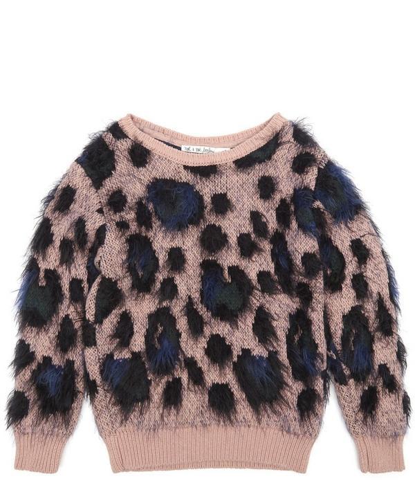 Leopard Sweater 2-8 Years