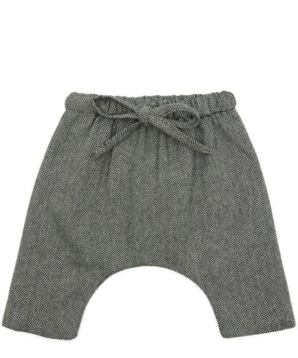 Diomar Herringbone Trousers