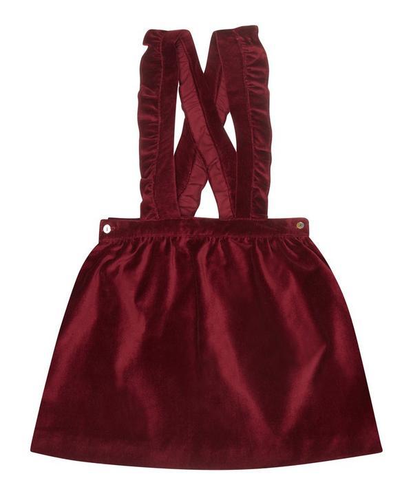 Atalnata Velvet Girl Skirt 2-8 Years