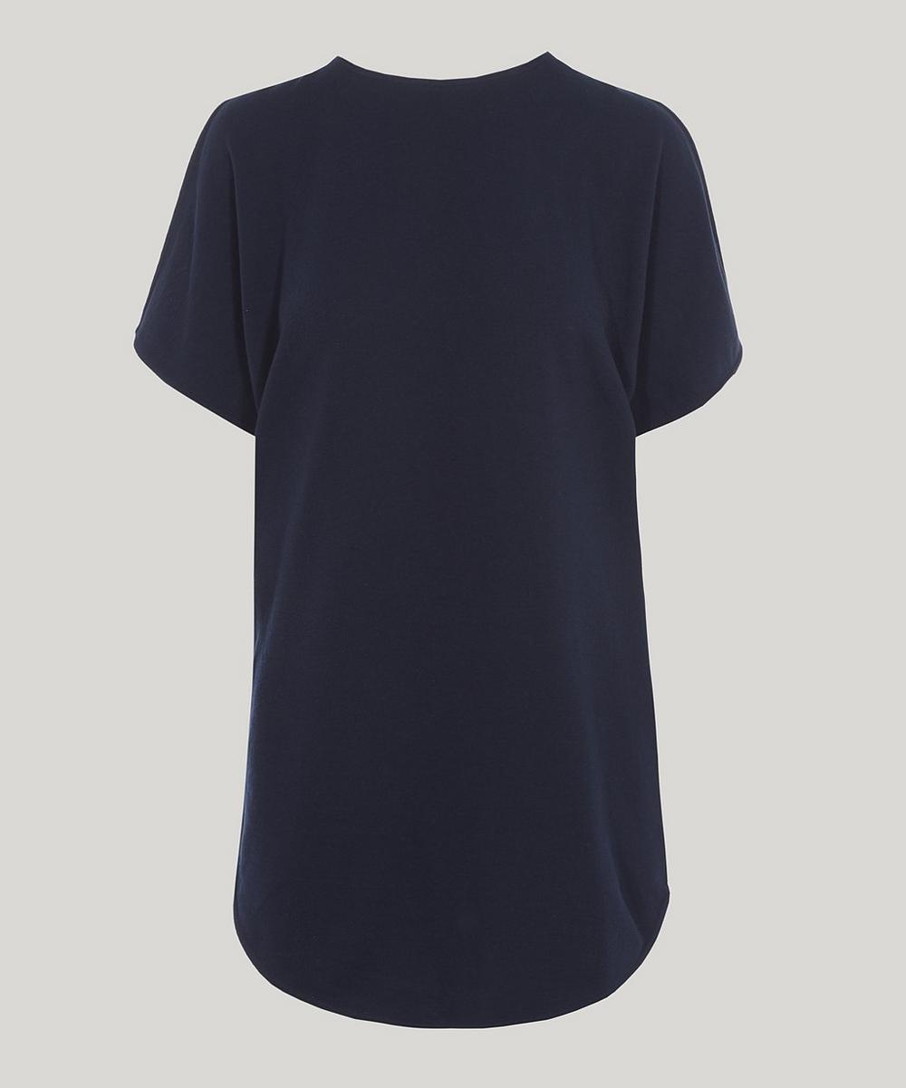 Drape Back Cotton Top