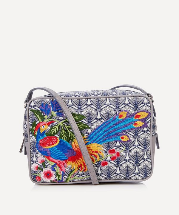 Elysian Paradise Embroidered Maddox Cross-Body Bag