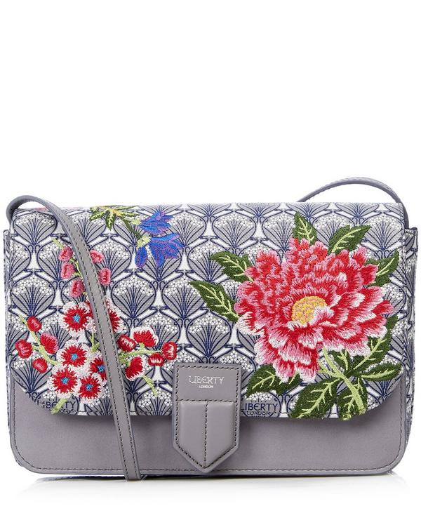 Elysian Paradise Embroidered Portland Cross-Body Bag