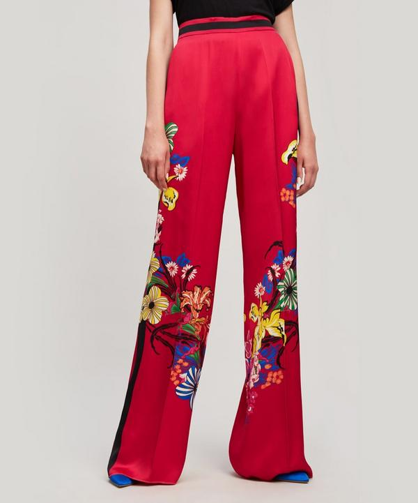 Palazzo Printed Trousers