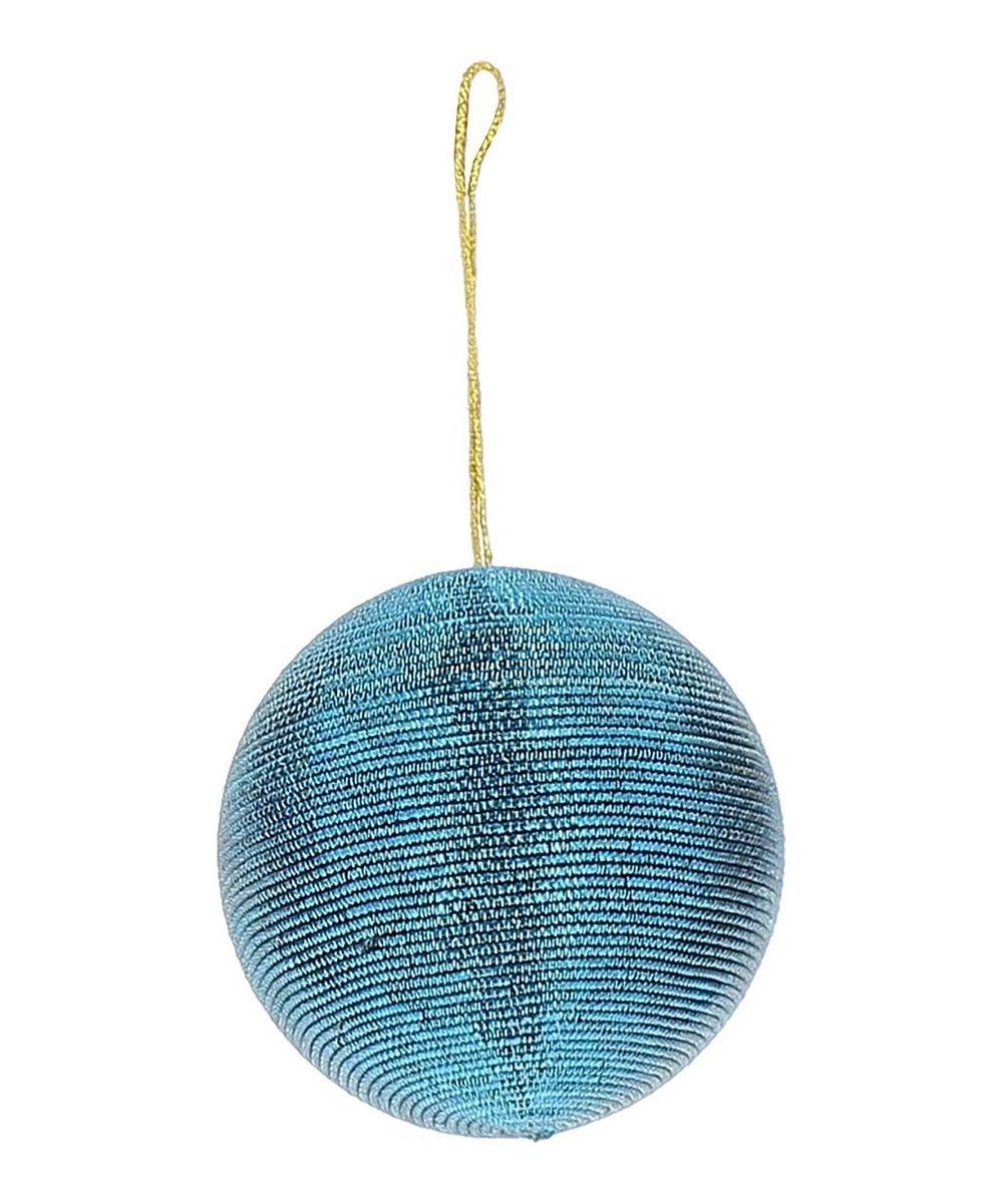 Blue Wire Bauble