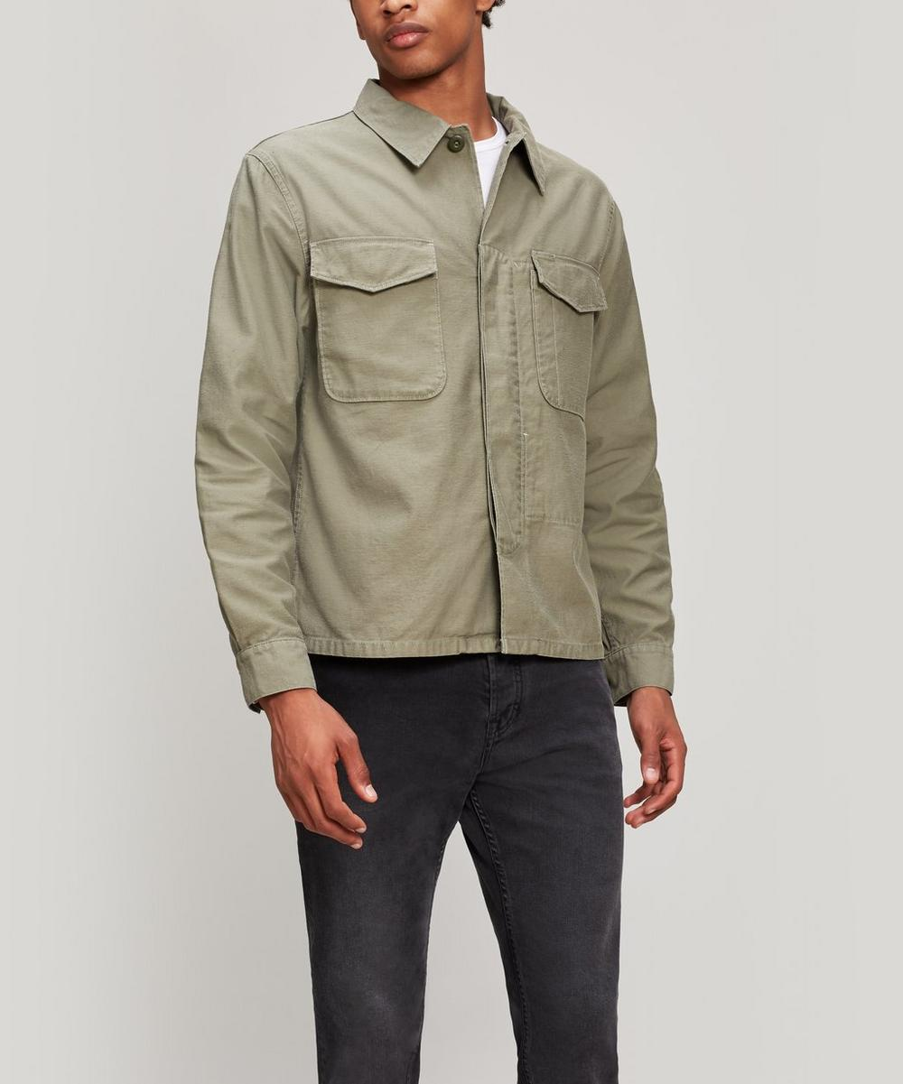 Marine Double Patch Overshirt