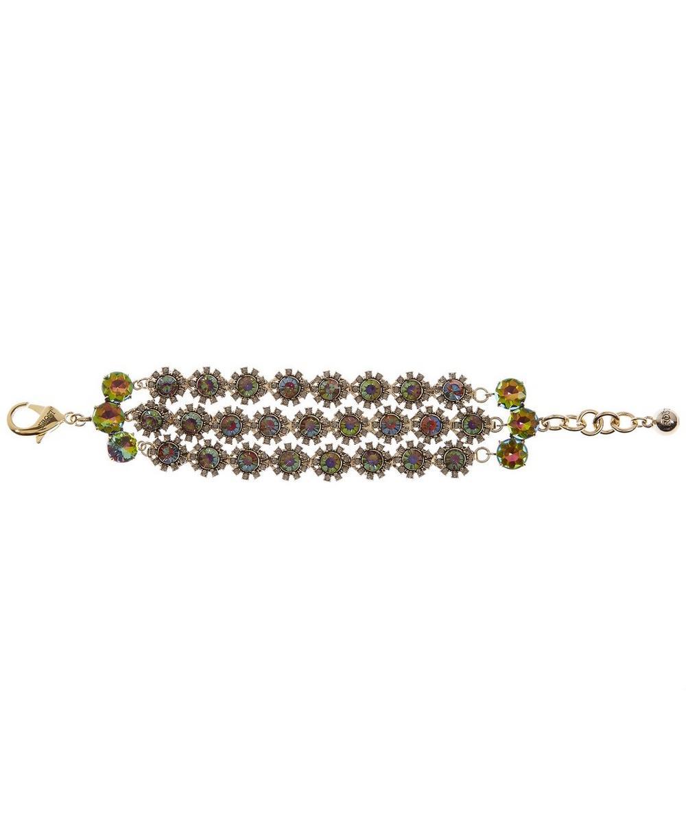 Beam Triple Strand Bracelet