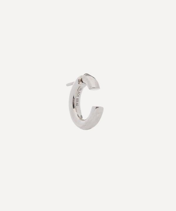 Silver Disrupted 14 Earring