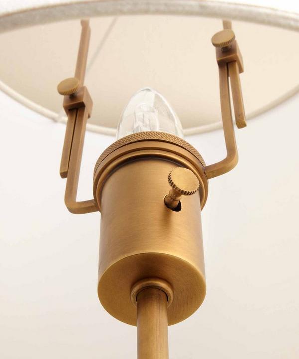 Hudson Wooden Floor Lamp
