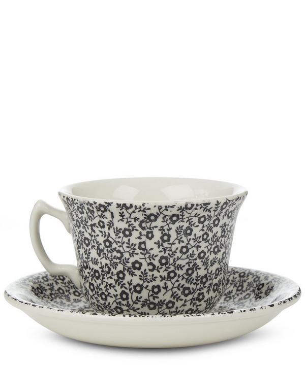 Burleigh Felicity Teacup And Saucer