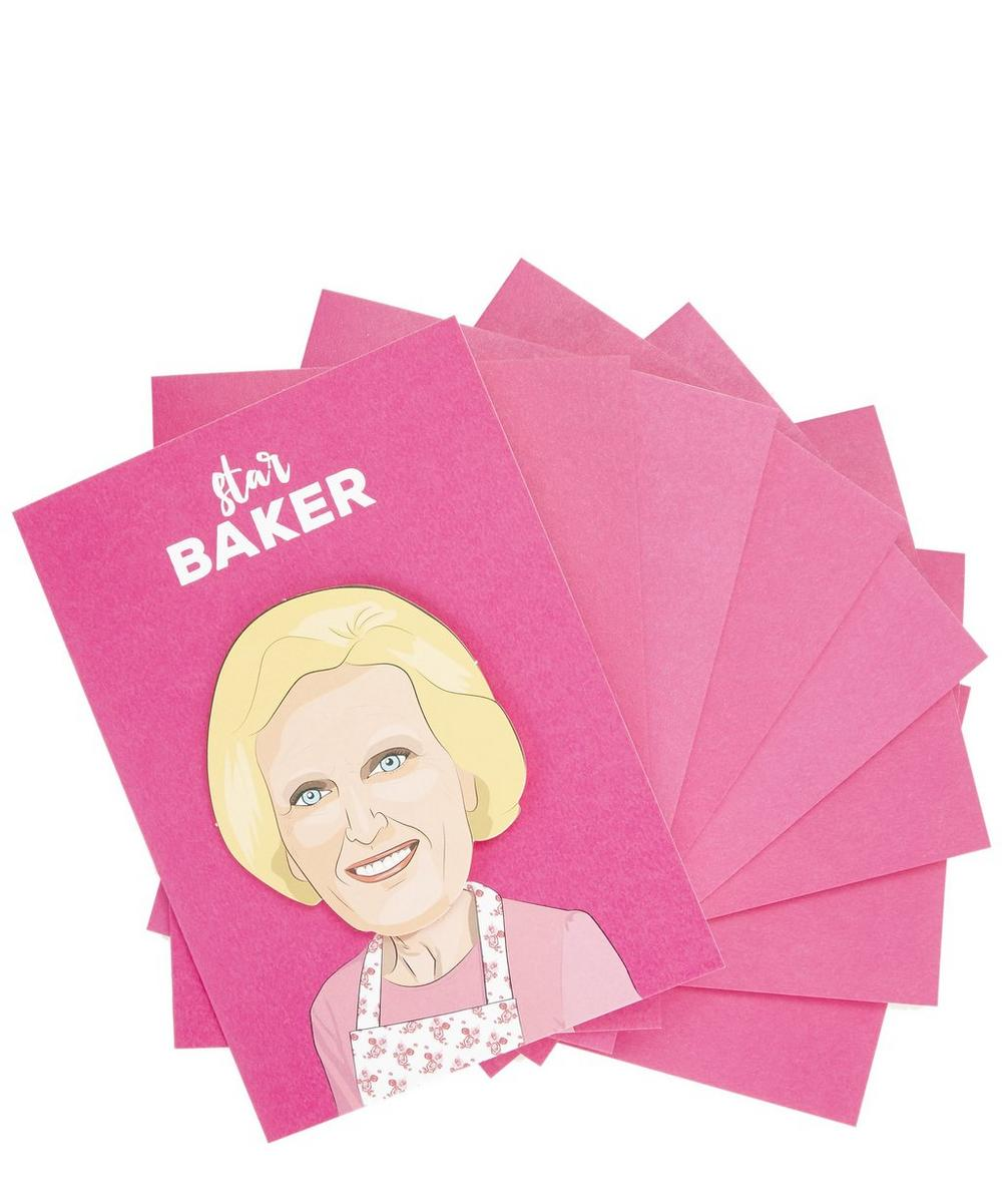 Star Baker Greeting Card Bundle