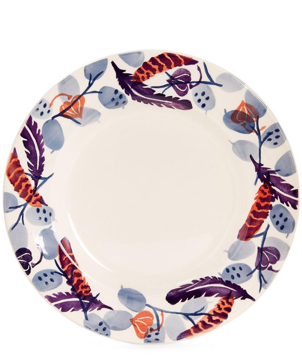 Honesty and Feather 10.5 Inch Plate
