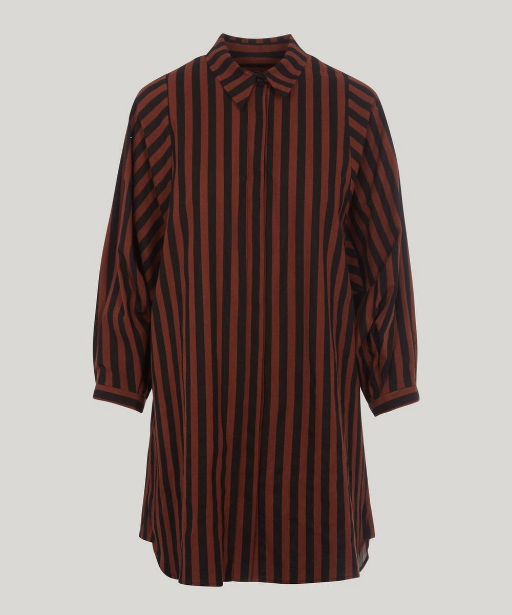 Gambrig Stripe Cotton Shirt