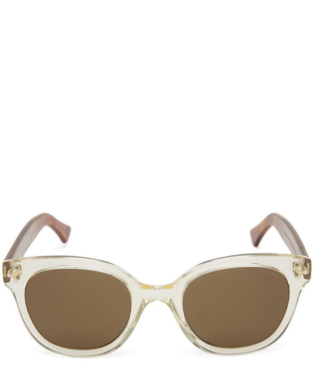 Two-Tone Acetate Sunglasses