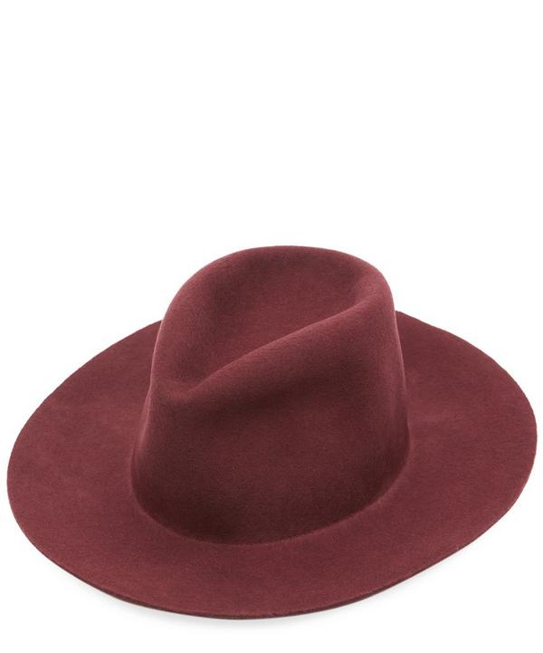 Pinch Wool Fedora Hat