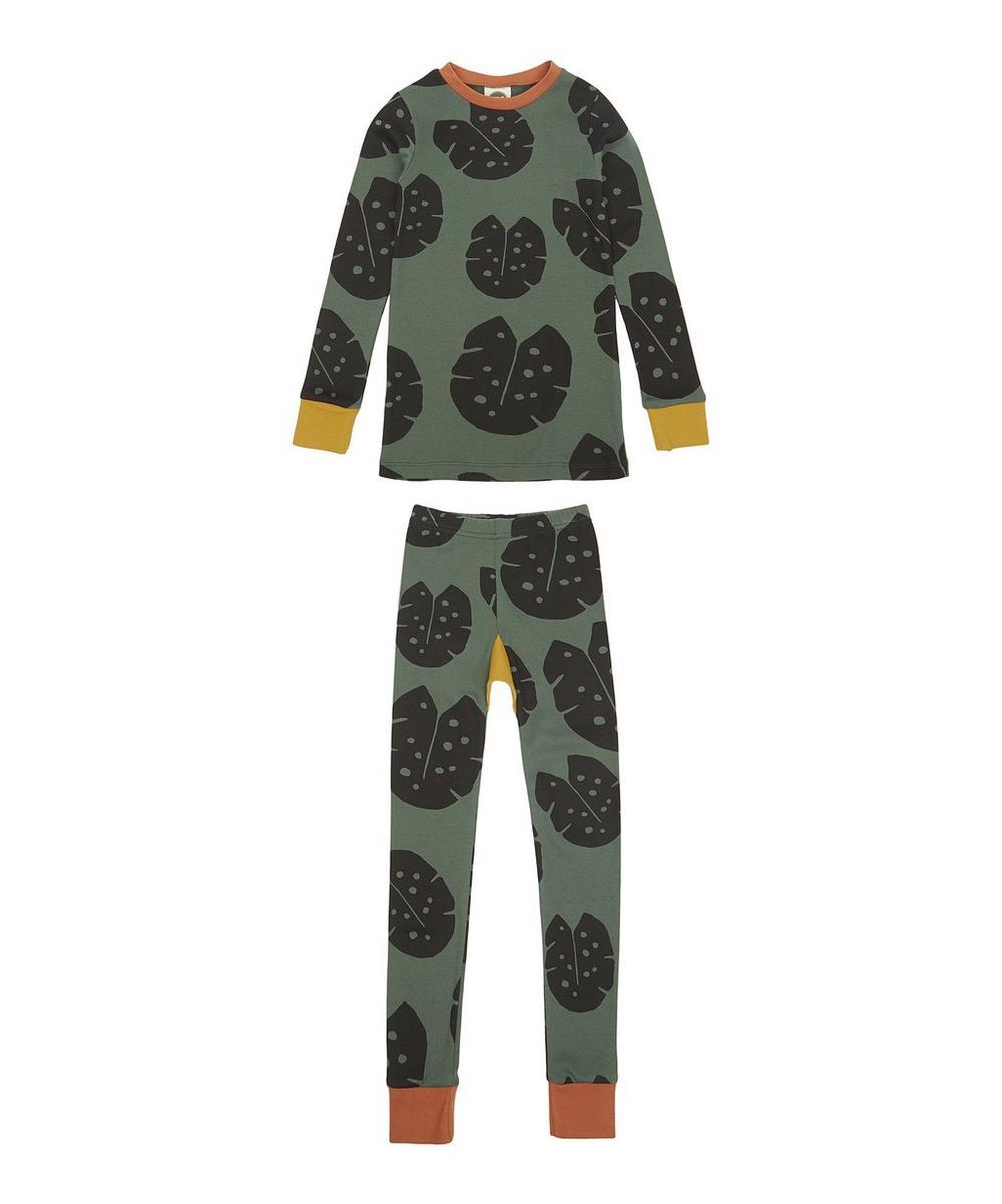 Monstera Forest Slim Jyms Pyjamas 2-8 Years