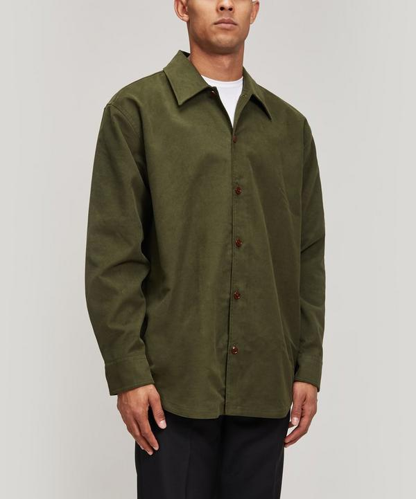 Moleskin Button-Through Overshirt