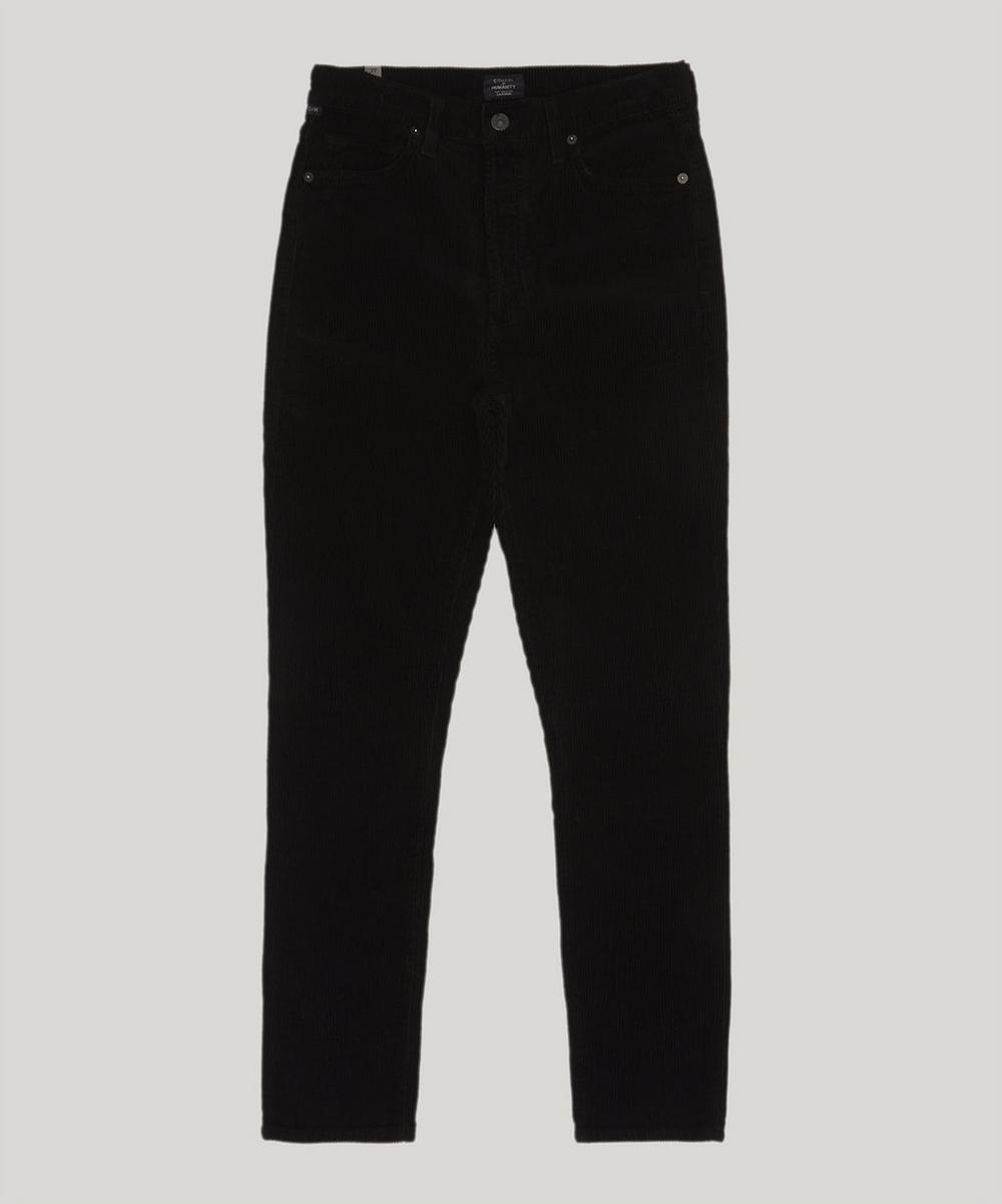 Olivia High-Rise Corduroy Trousers