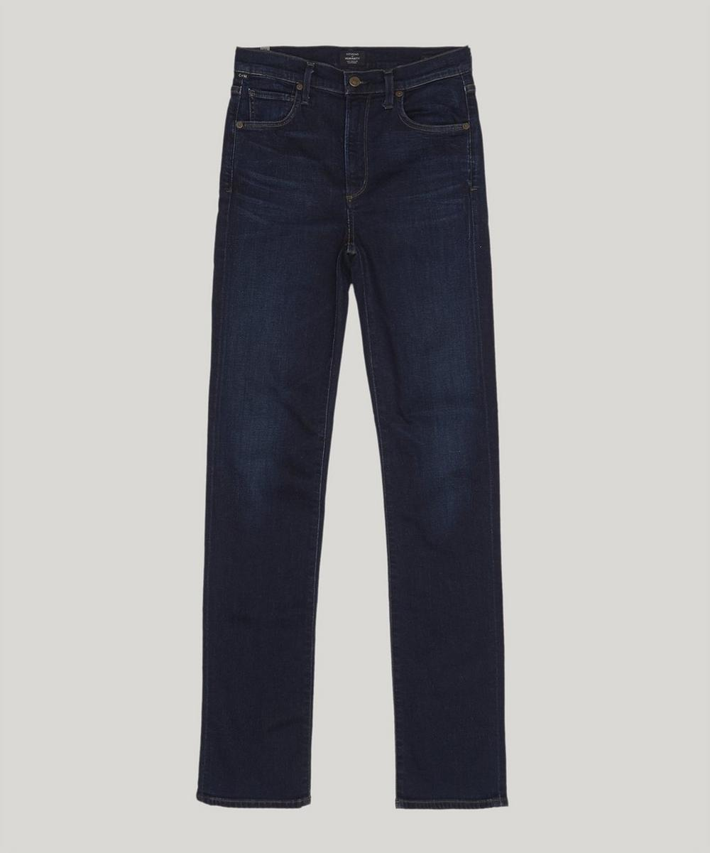 Mila High-Rise Cigarette Jeans