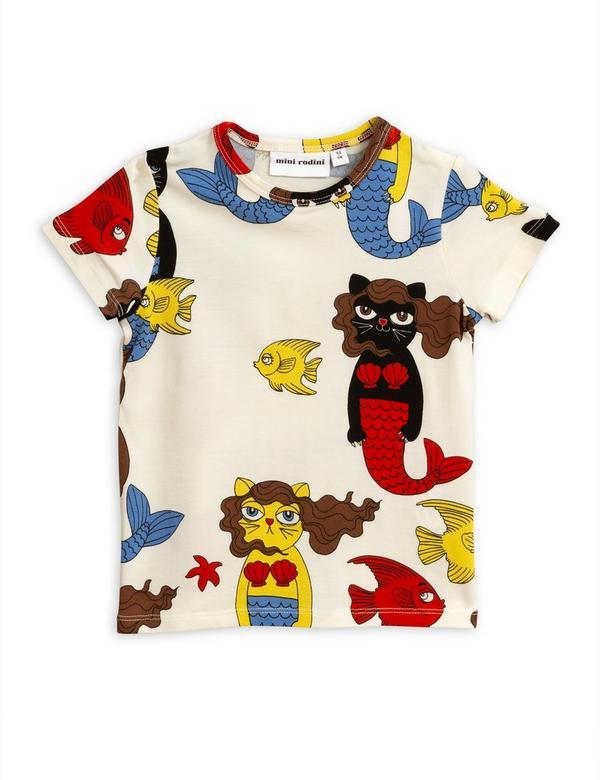 Cat Mermaid T-Shirt 2-6 Years