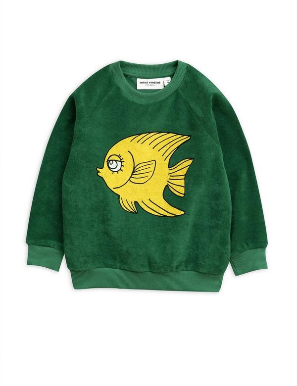 Terry Fish Sweatshirt 2-6 Years