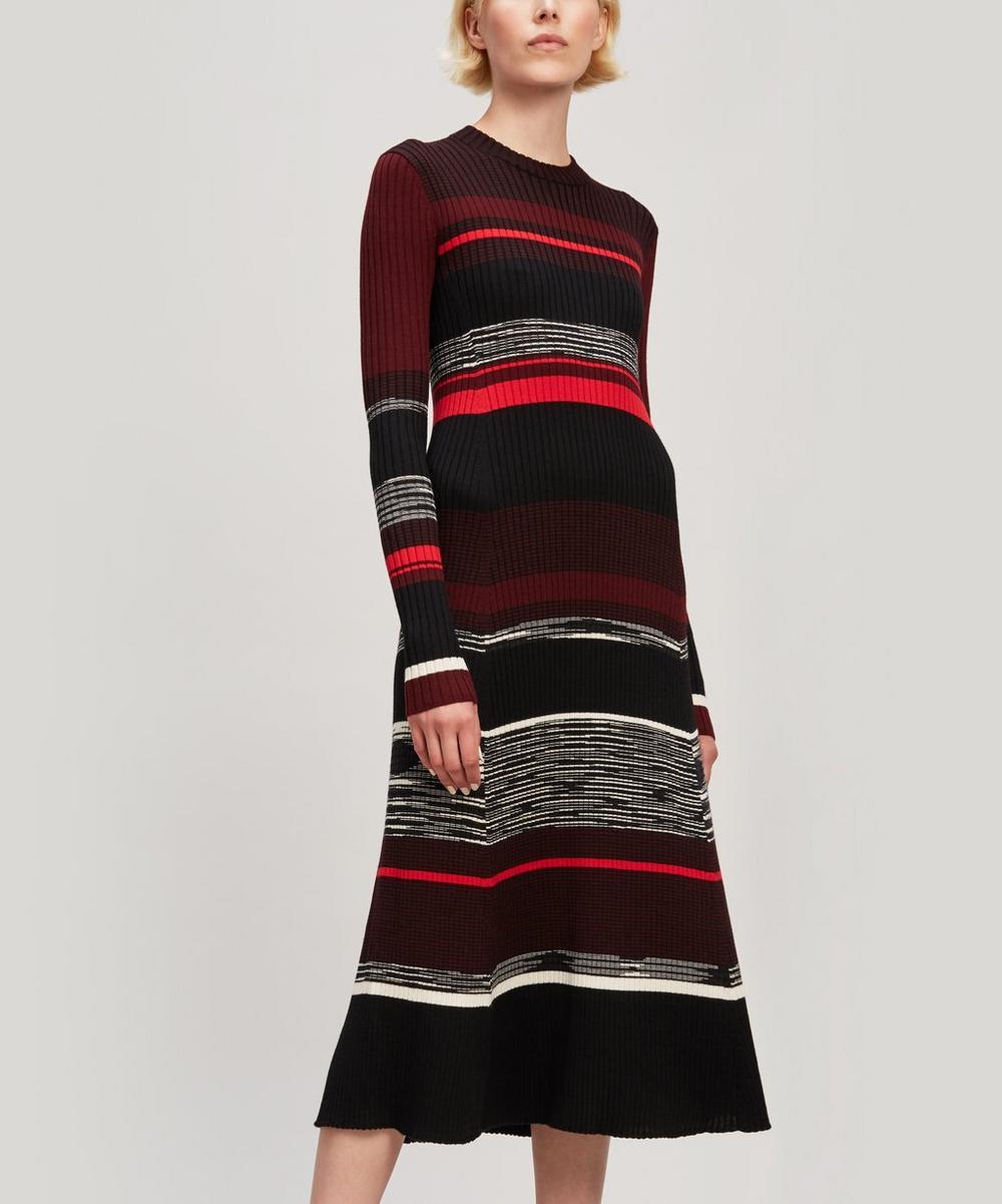 Long Sleeve Ribbed Dress
