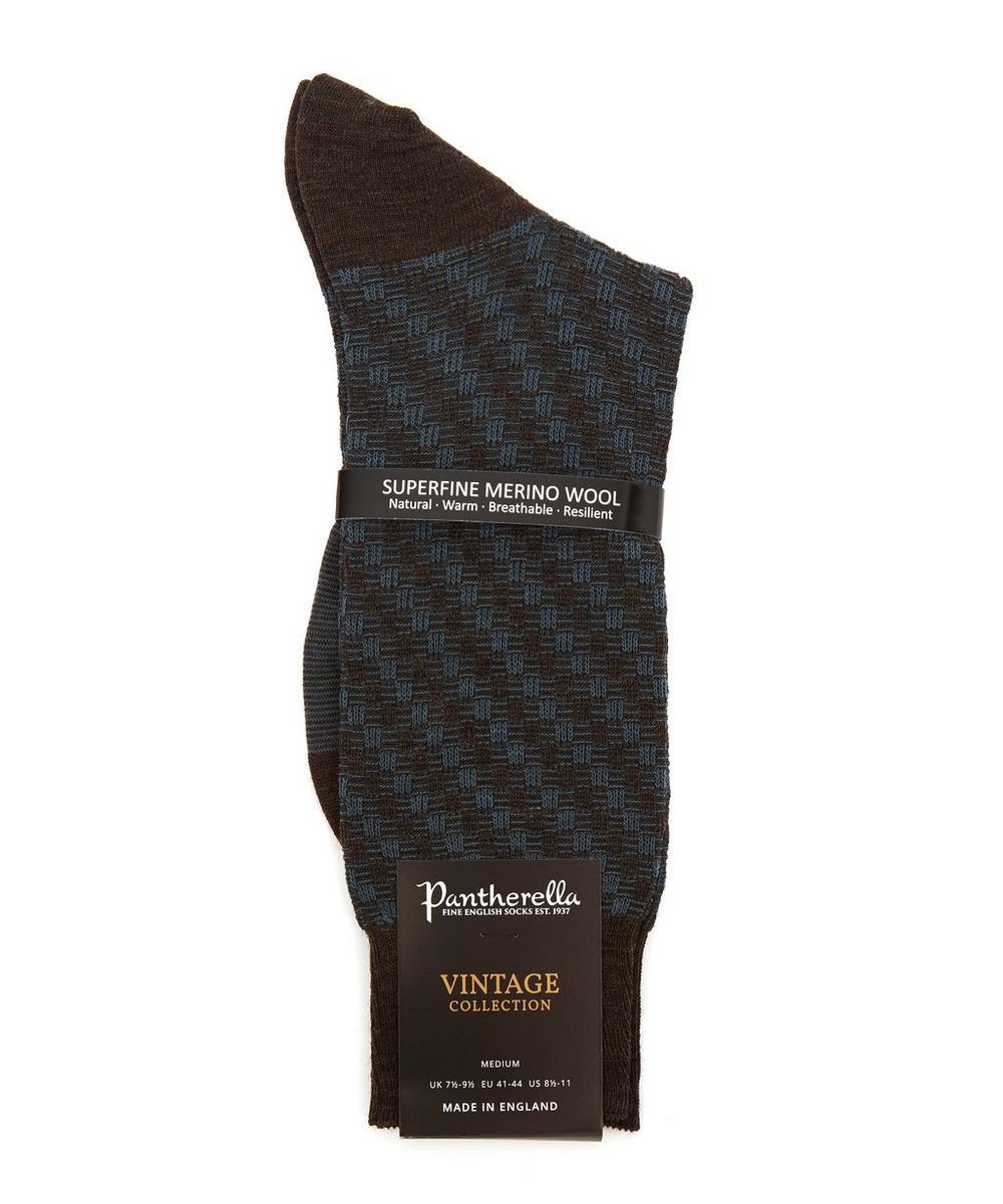 Dorville Textured Wool Socks