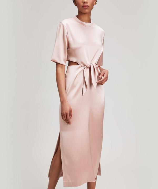 Bhumi Apple Blossom Cut-Out Dress