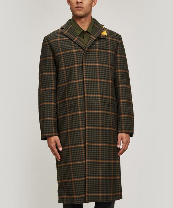 Cage Wool-Blend Coat