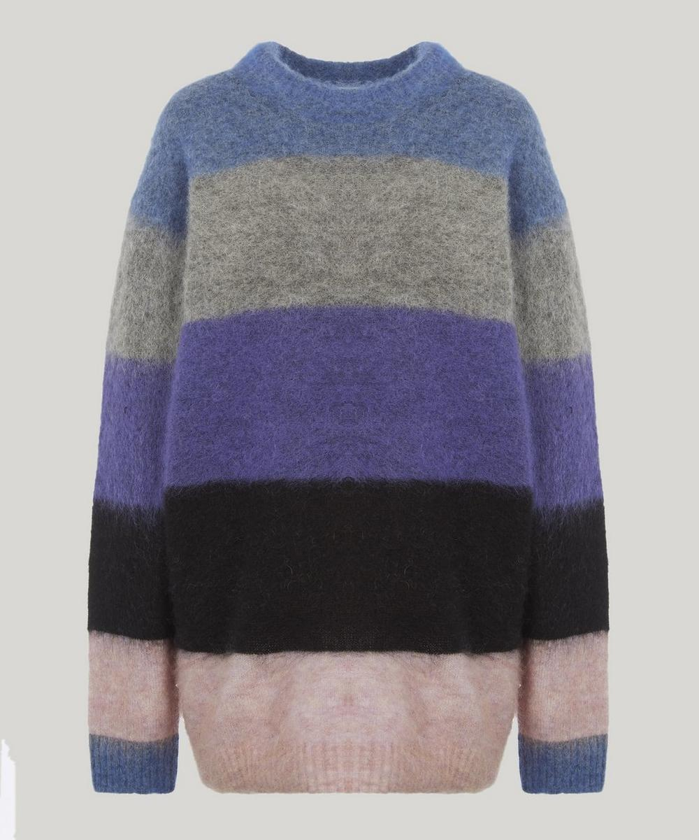 Albah Thick Striped Wool-Blend Jumper