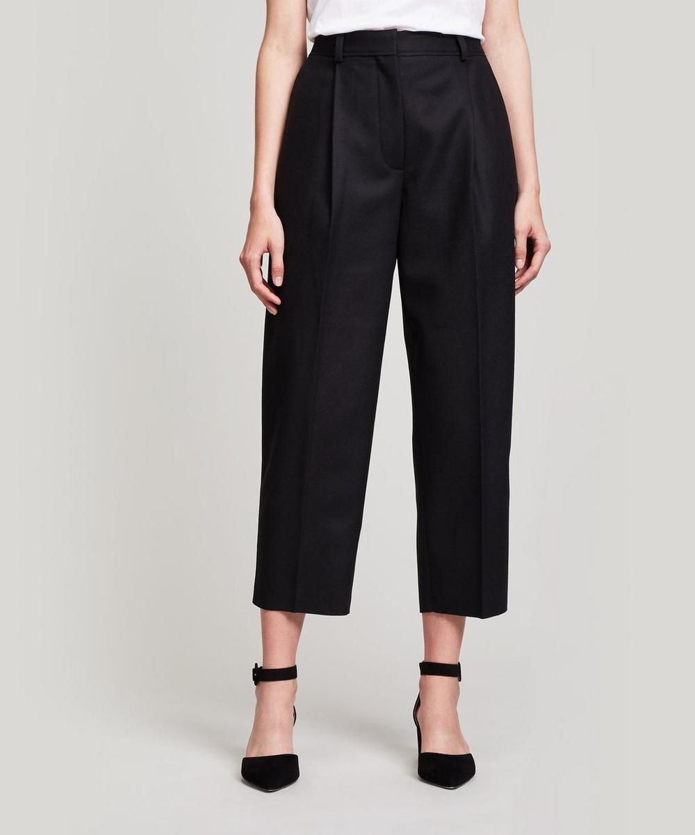 Crop Tailored Trousers
