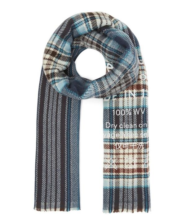 Cassiar Large Check Scarf