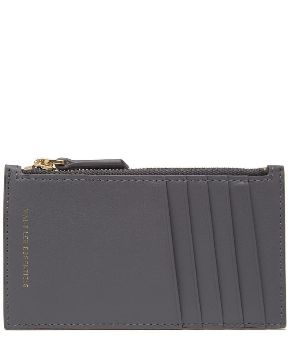 Adana Leather Zipped Card Holder