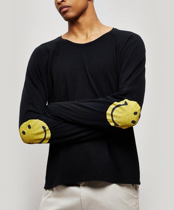 Chef Smiley Elbow Patch Long-Sleeve T-Shirt