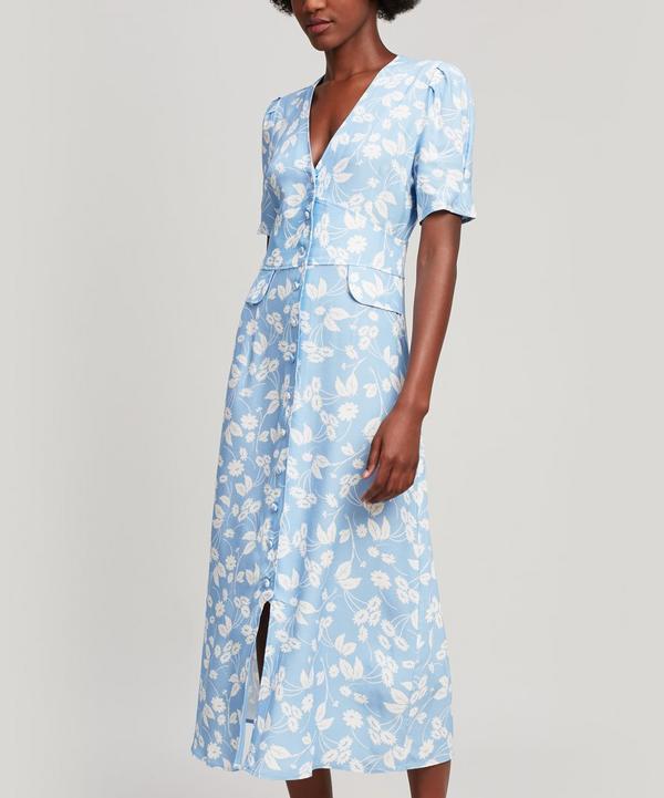 Jackson Button-Down Midi Dress