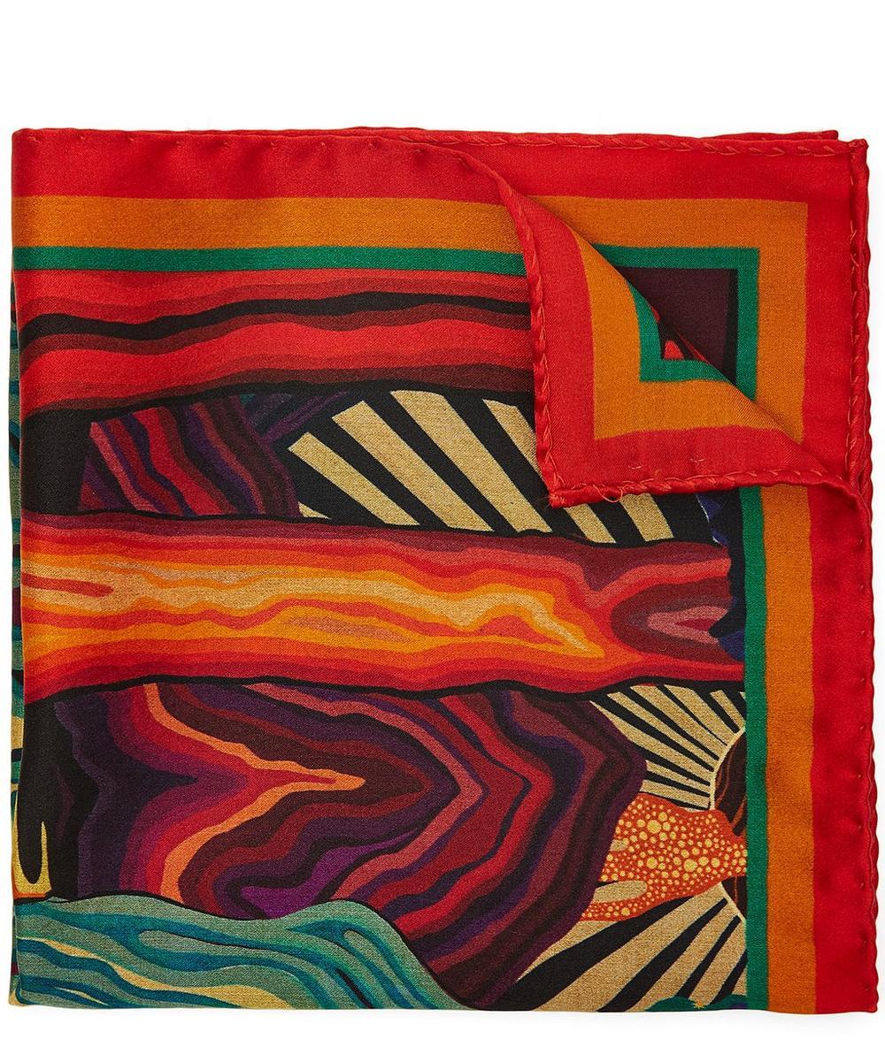 Dreamscape Silk Pocket Square