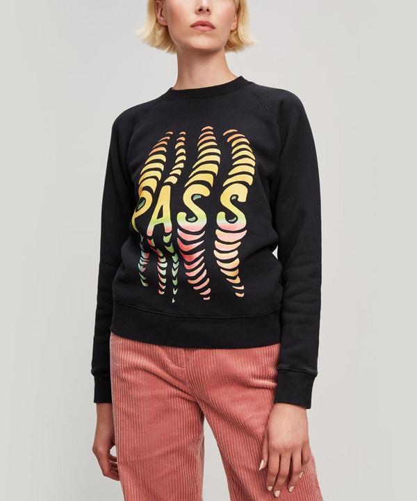 Pass Print Sweatshirt