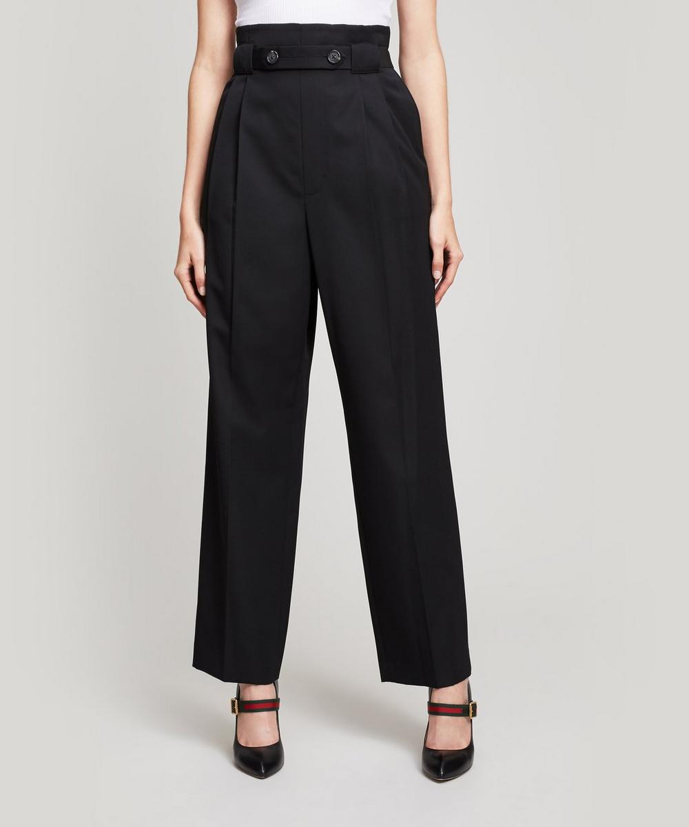 Pull On Gabardine Trousers