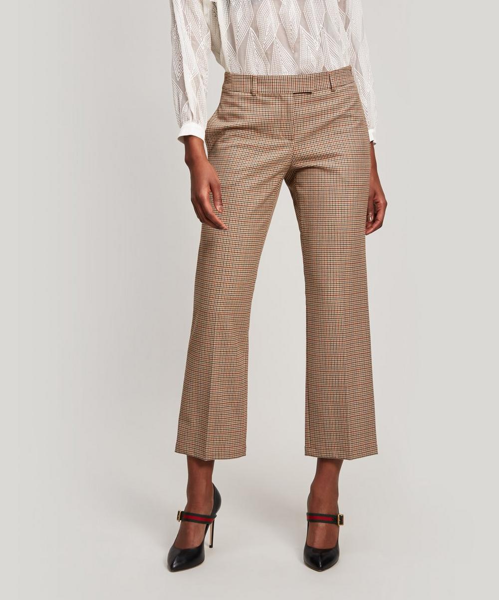 Cece Check Trousers