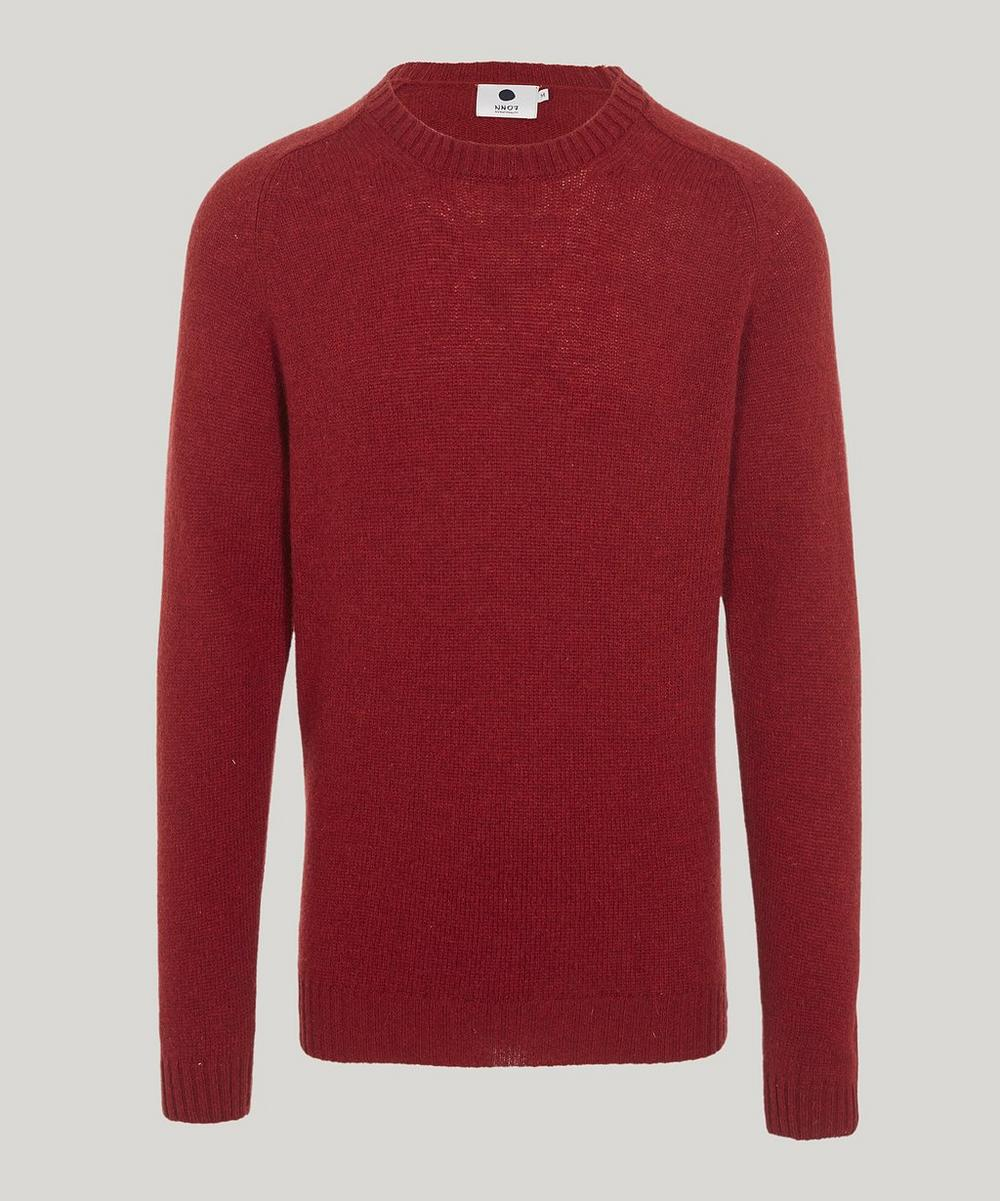 Crew Neck Wool Nathan Knit